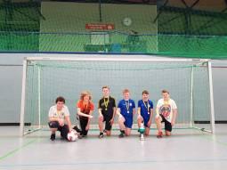 1 Die Gewinner des Fussballturniers - Klasse 7