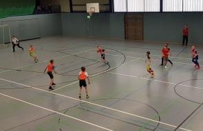 2 Unsere 5.Klässler in Aktion beim Fussballturnier
