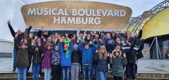 3 Unsere Schüler bei der Musicalfahrt Hamburg
